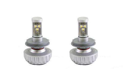 Светодиодные лампы INTERPOWER H4 CREE 3S RADIATOR 30 W (белый свет)