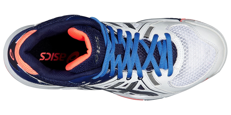 Женские высокие волейбольные кроссовки Asics Gel-Task MT (B556Y 0147) фото