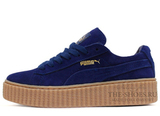 Кеды Женские Puma X Rihanna Creeper Dark Blue