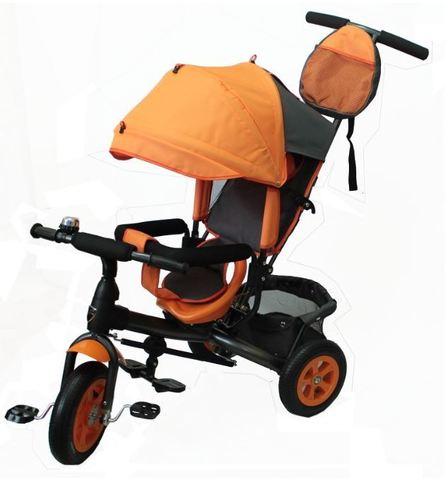 Велосипед детский с надувными колёсами (оранжевый)