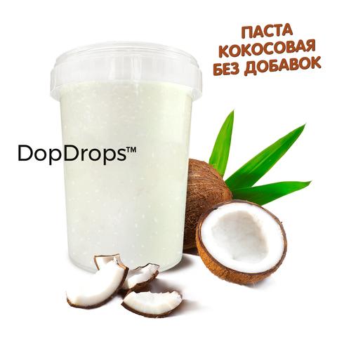 DopDrops Кокосовая Паста 1000г [без добавок], пластик
