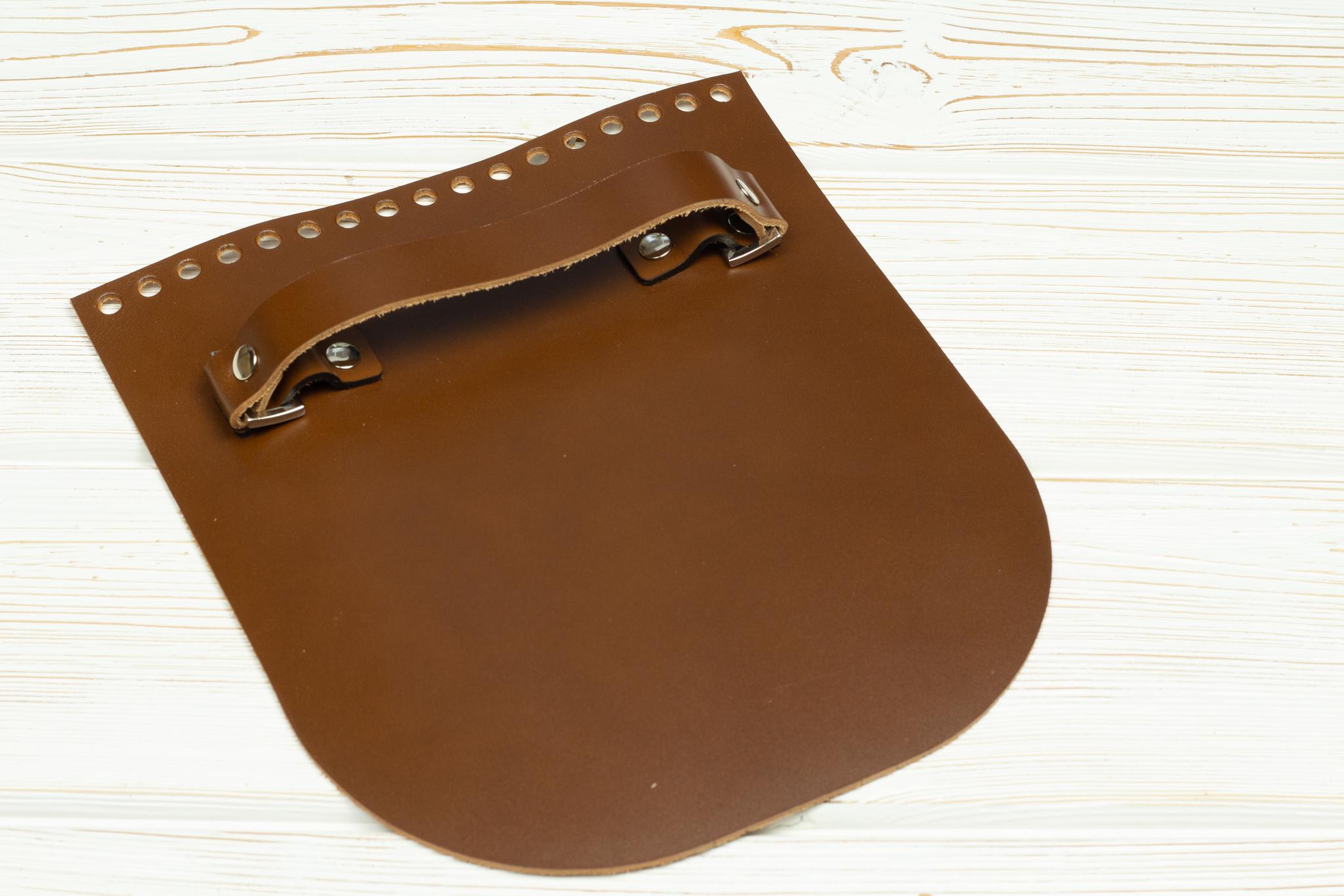 """Вся фурнитура Клапан для сумочки с ручкой кожаный """"Корица"""" IMG_3512.jpg"""