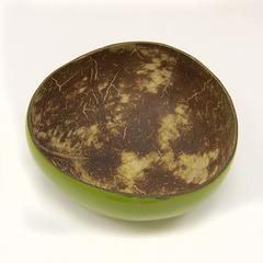 Чаша для бритья из кокоса