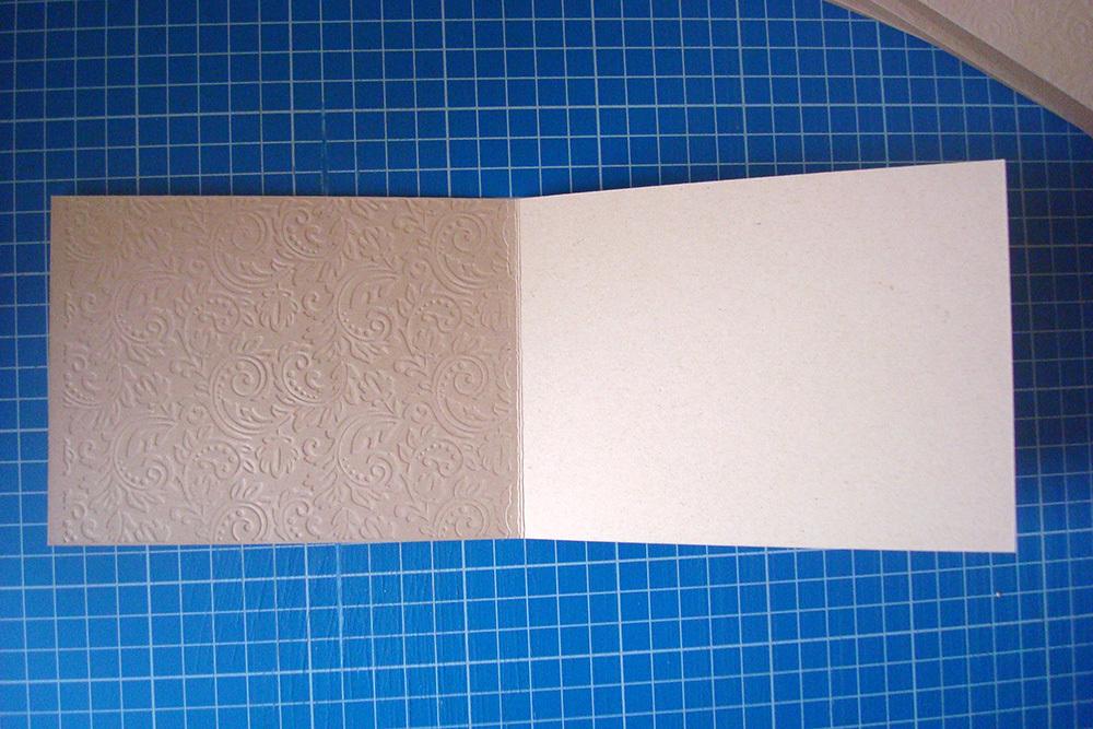 Заготовка для открытки «Узоры» 10х15 см, песочный