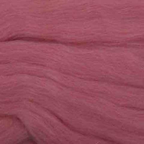 Шерсть для валяния полутонкая 21 Брусника (Пехорка), фото