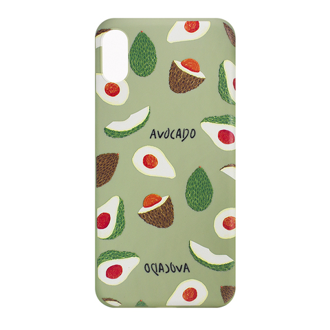 Чехол для IPhone XS Max Avocado