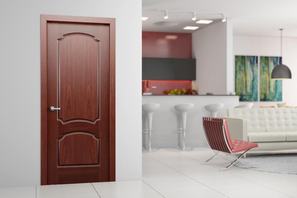 Ламинированные двери в интерьере