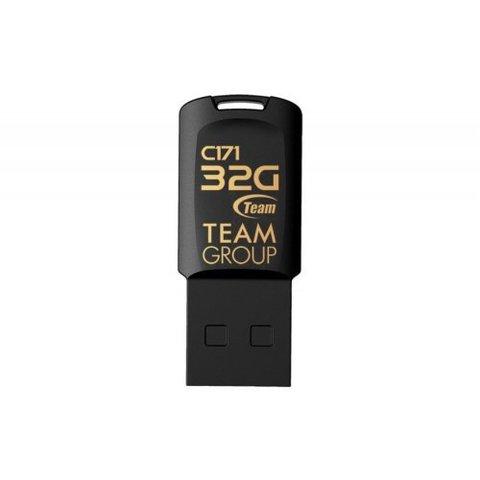 Накопитель Team C171 32GB USB 2.0 Black (TC17132GB01)