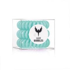 Силиконовая резинка для волос Hair Bobbles  - Зеленая, 3 шт