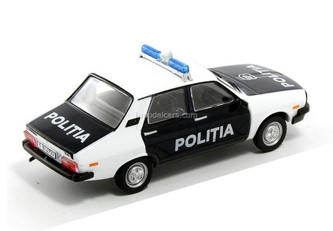 Dacia 1310 Police Romania 1:43 DeAgostini World's Police Car #52