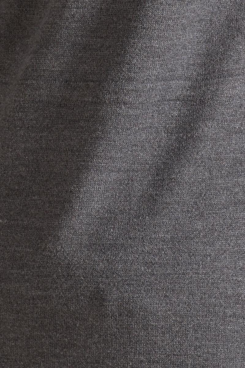Кардиган 09796 серый меланж