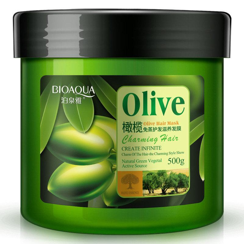 Bioaqua Маска для волос с оливой Olive Charming Hair Mask, 500 г