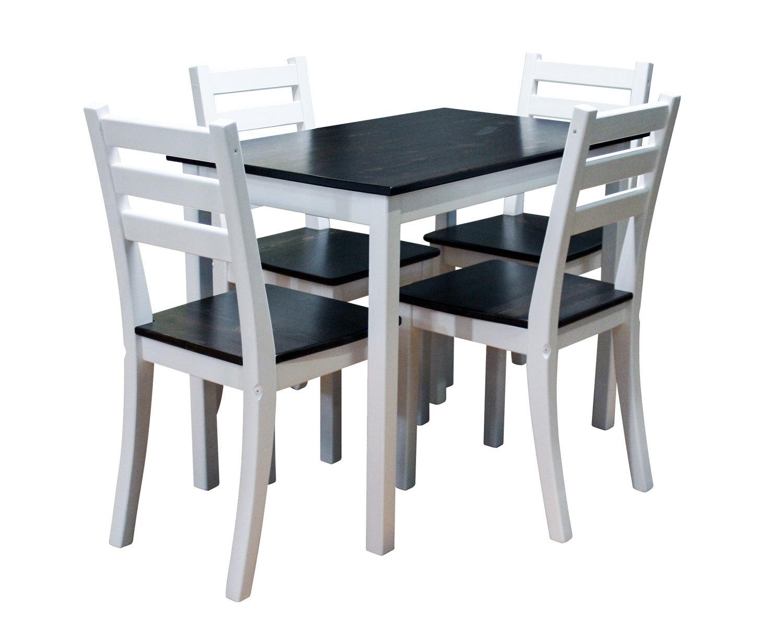 столовая группа Егорка, цвет венге + белый