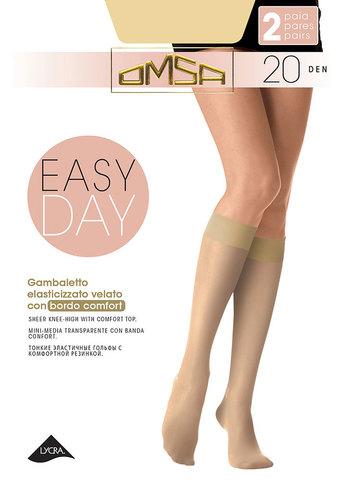 Гольфы Easy Day 20 (2 пары) Omsa
