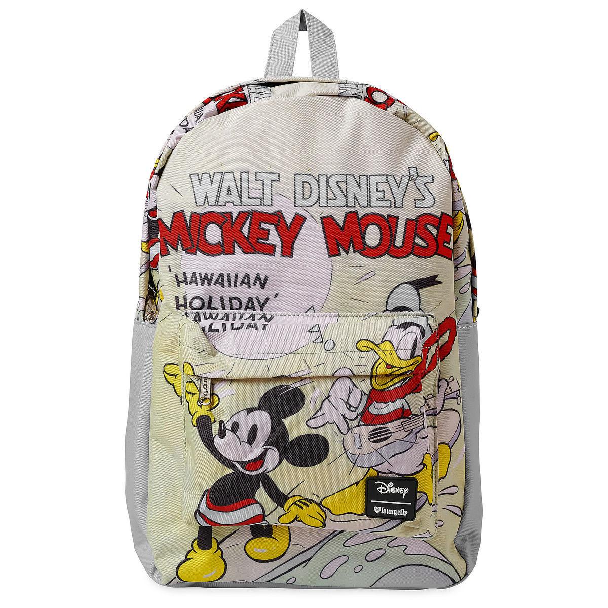 Детский рюкзак Микки Маус и Дональд Дак от Loungefly