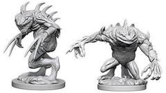 D&D Nolzur's Marvelous Miniatures - Grey Slaad & Death Slaad