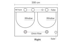 Гроутент Homebox AMBIENT Q300 (300х300х200)