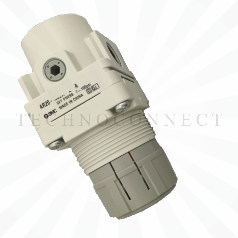 AR20K-F02-B  Регулятор давления с обр. клапаном, G1/4