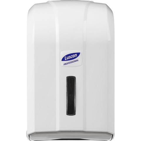 Диспенсер для туалетной бумаги Luscan Professional листовой белый