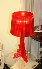 лампа  Bourgie Table lamp by Kartell ( RED )