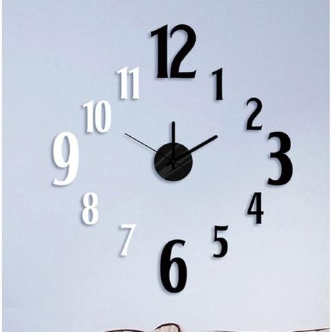 Часы-наклейка 1*AА батарея (в комплект не входит), NL36 (Feron)