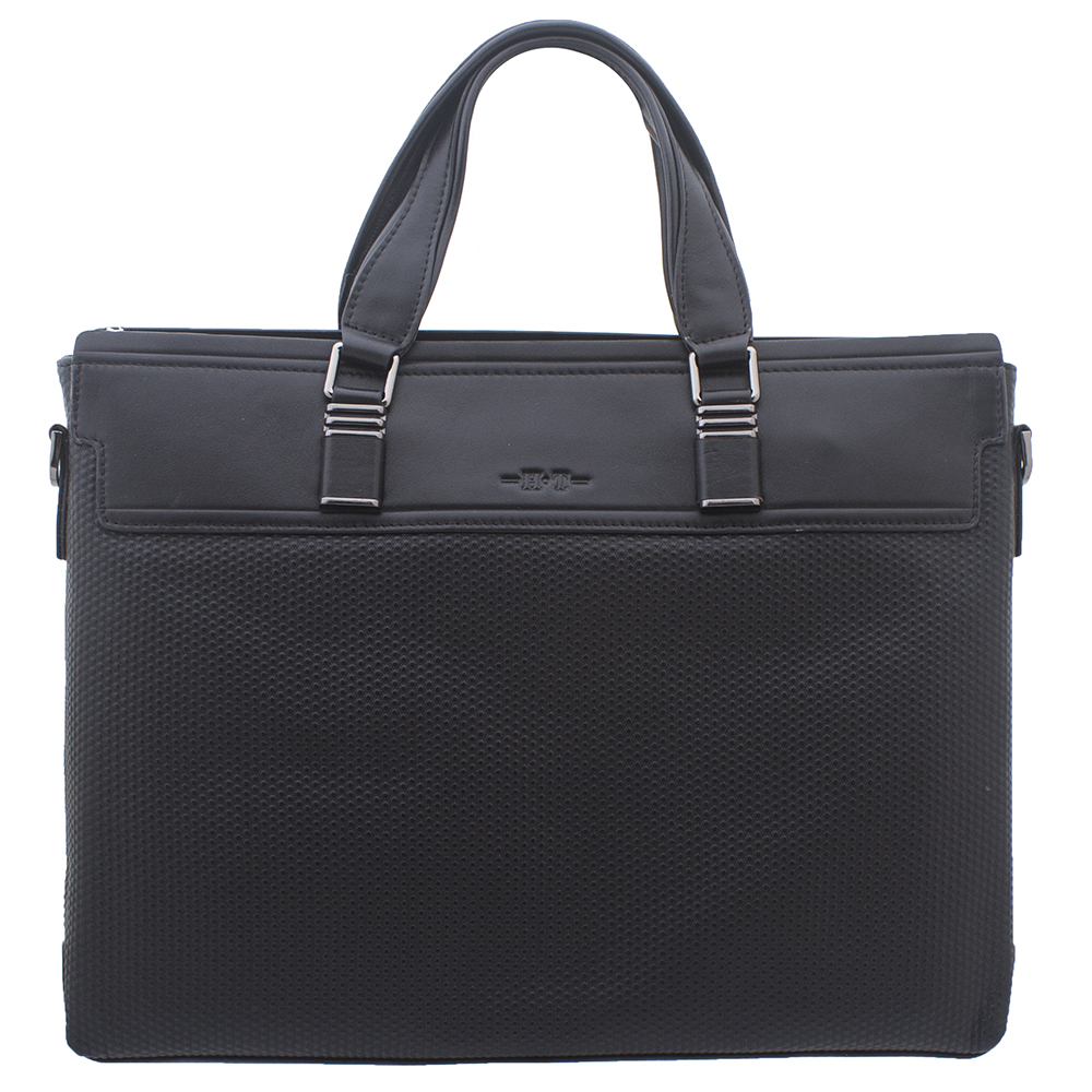 524603463bbe Купить мужскую кожаную сумку с двумя ручками HT 00139 в интернет ...