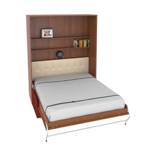 Шкаф-кровать с софой вертикальная двуспальная 160 см queen size