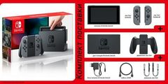 Nintendo Switch (серый) + Zelda