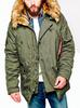 Куртка Аляска Зимняя - Explorer  (зеленый - d.green)