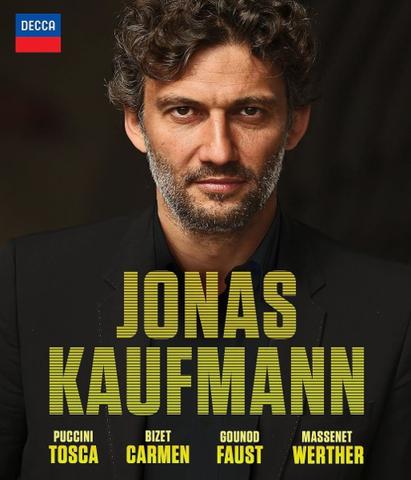 Jonas Kaufmann / Tosca, Carmen, Faust, Werther (4Blu-ray)