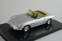 Ferrari 330 GTS Spyder silver box Altaya 1:43