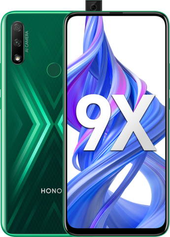 Смартфон Honor 9X 4/128GB Green (Зеленый)