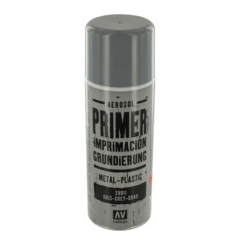 Грунты 28011 Primer Metal-Plastic Grey Грунт в Аэрозоли Металл-Пластик Серый, 400 мл Acrylicos Vallejo Металл_Пластик_Серый.jpg
