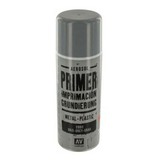 28011 Primer Metal-Plastic Grey Грунт в Аэрозоли Металл-Пластик Серый, 400 мл Acrylicos Vallejo