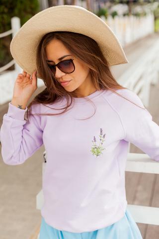 Свитшот Lavender