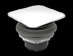 Сливной клапан Kaldewei 3905 Alpine white крышка квадратная