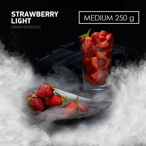 Табак Dark Side MEDIUM Strawberry Light 250 г