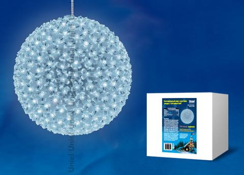 ULD-H2727-300/DTA WHITE IP20 SAKURA BALL Фигура светодиодная «Шар с цветами сакуры», с контроллером, 300 светодиодов, диаметр 27 см, цвет свечения-белый, IP20