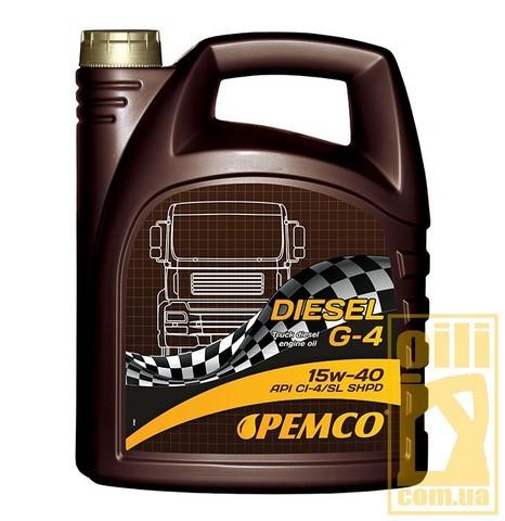 Pemco DIESEL G-4 SHPD 15W-40 5L