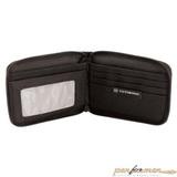 Бумажник Victorinox Tri-Fold Wallet на молнии чёрный (31172601)