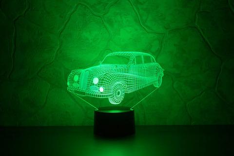 3D ночник BMW 501