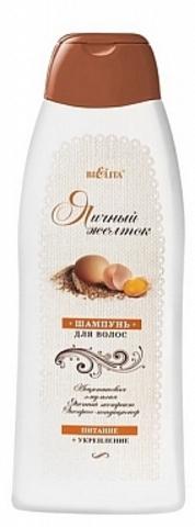 Белита Пивные дрожжи и Яичный желток Шампунь для волос «Яичный желток» Питание + укрепление 500мл