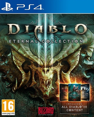 PS4 Diablo III - Eternal Collection (русская версия)
