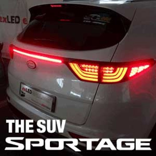 LED-модули рефлекторов задних фар 1533L2 Power LED - KIA The SUV Sportage (EXLED) для KIA Sportage IV 2016 - exled electric cars motorcycle led headlights modification lens strong light