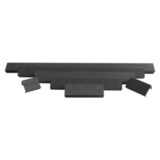Защитная крышка фары  30 черный ABS пластик ALO-AC30 ALO-AC30 фото-1
