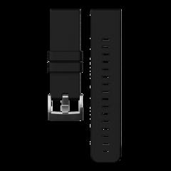 Ремешок для часов Suunto Traverse (черный силиконовый) SS021846000