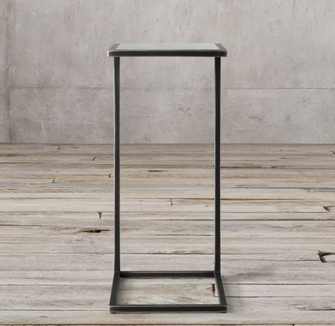 Strand Mirrored Rectangular Cocktail Side Table