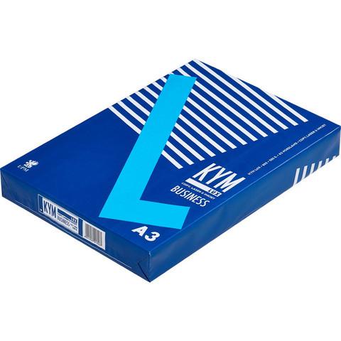 Бумага для ОфТех KYM LUX Business (А3,80г,164%CIE,FI) пачка 500л.