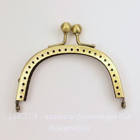 Фермуар 8,9х6,9 см (цвет - античная бронза)