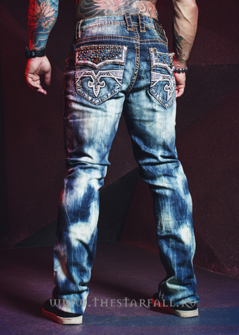 Джинсы Rock Revival RAND TA400 TAPER JEAN